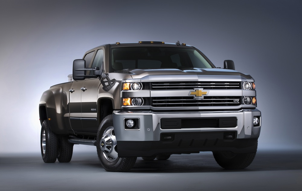 Comparison - Chevrolet Silverado 3500HD Crew Cab LTZ 2015 ...