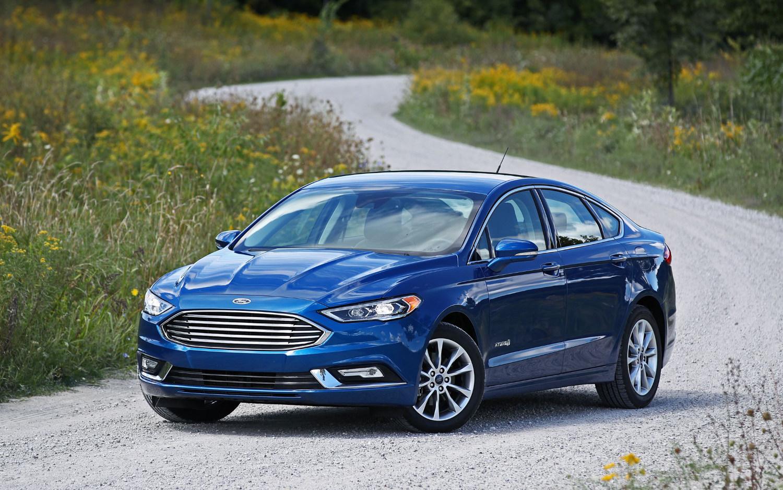 ford fusion platinum hybrid  suv drive