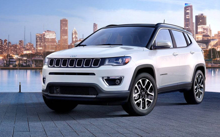Jeep Compass High Altitude 2017 Suv Drive