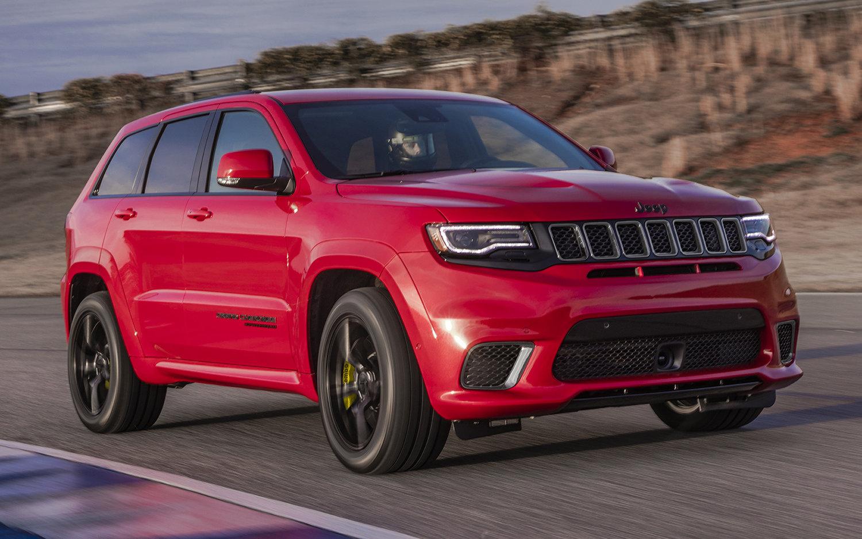 Comparison Jeep Grand Cherokee Trackhawk Supercharged
