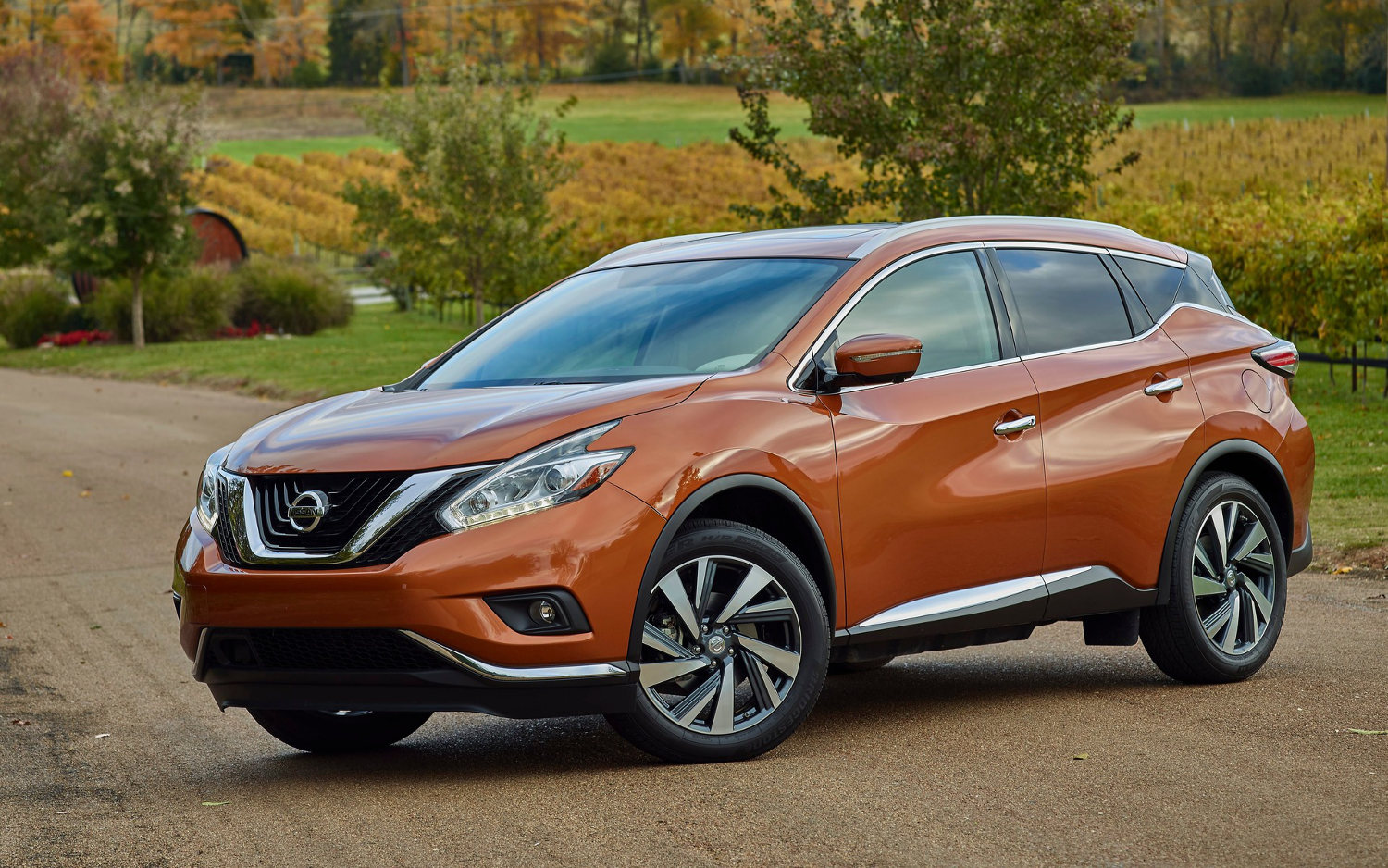 Comparison Nissan Murano Platinum 2017 Vs Nissan