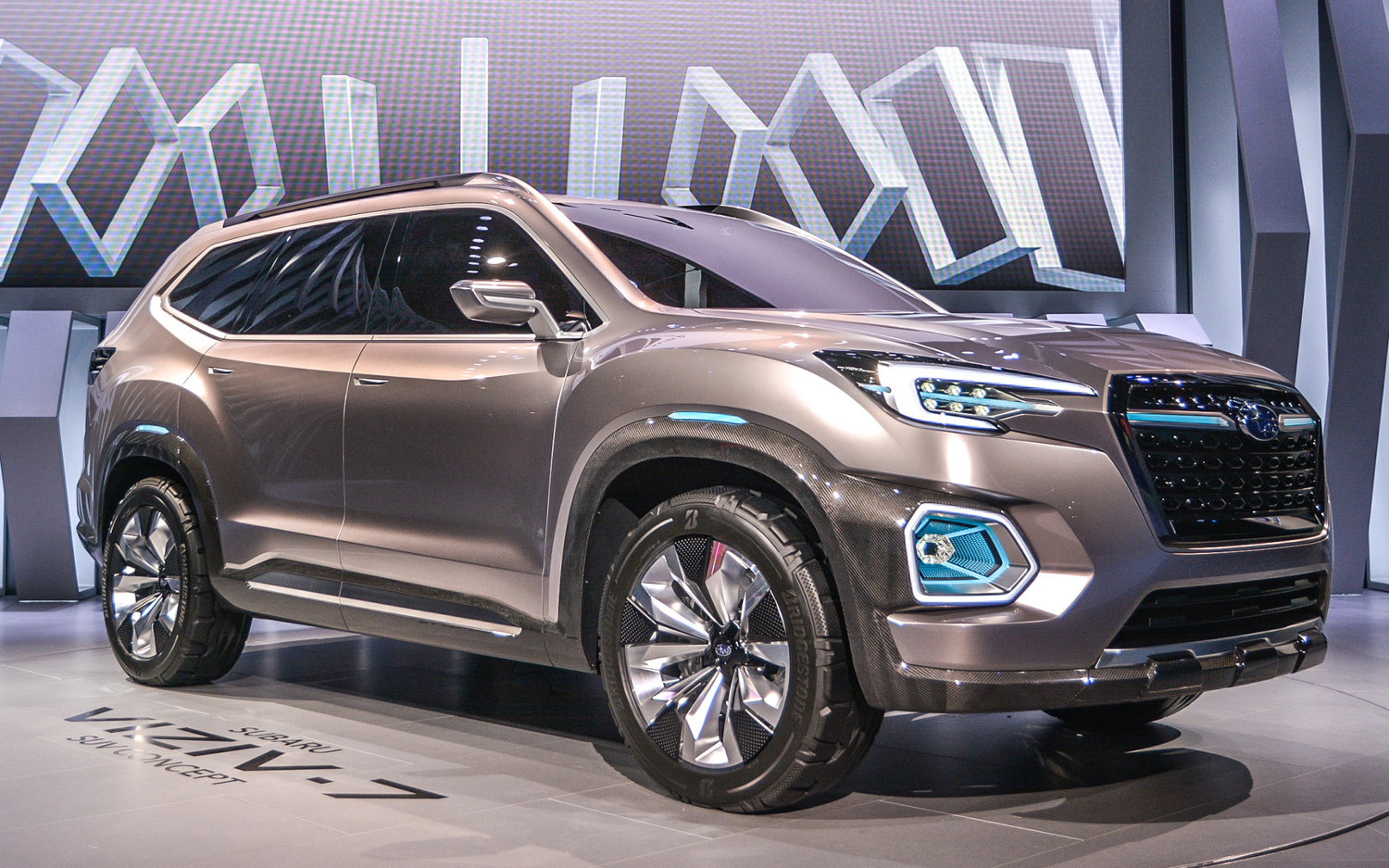 2018 subaru ascent suv. interesting subaru comparison  subaru viziv 7 concept ascent 2018 vs  premium in subaru ascent suv