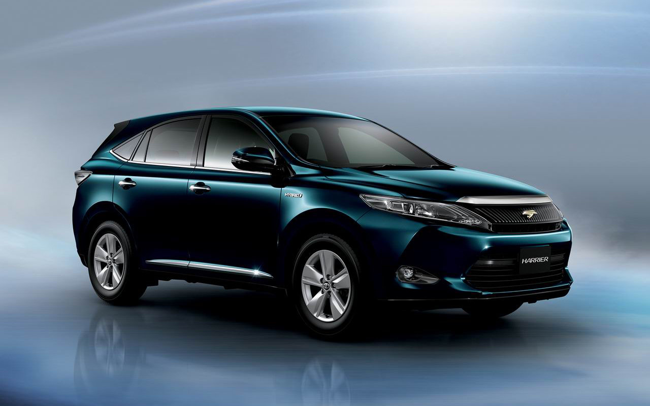 toyota harrier 2016 premium hybrid suv drive. Black Bedroom Furniture Sets. Home Design Ideas