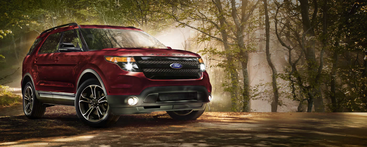 comparison ford explorer limited 2015 vs land rover discovery sport suv 2015