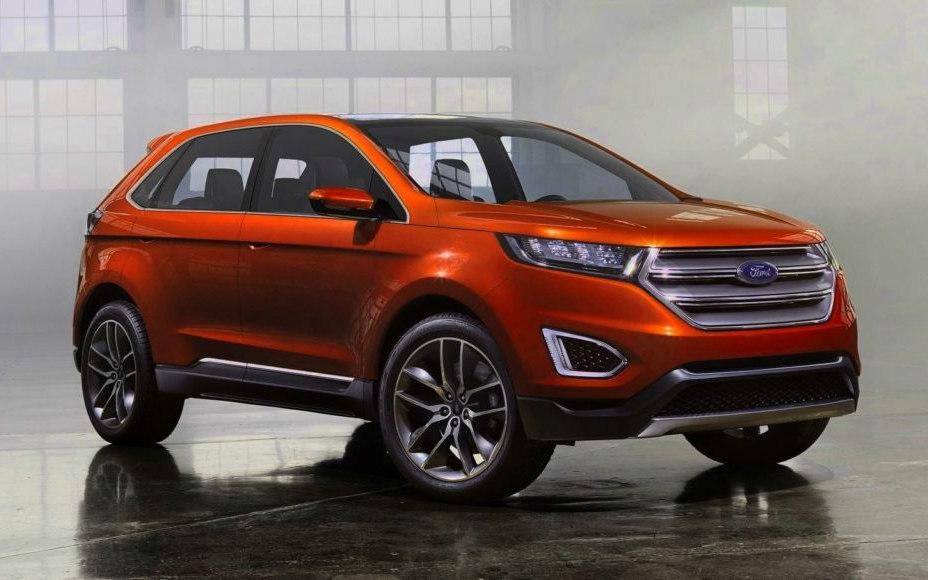 comparison ford territory titanium   ford edge sport  suv drive