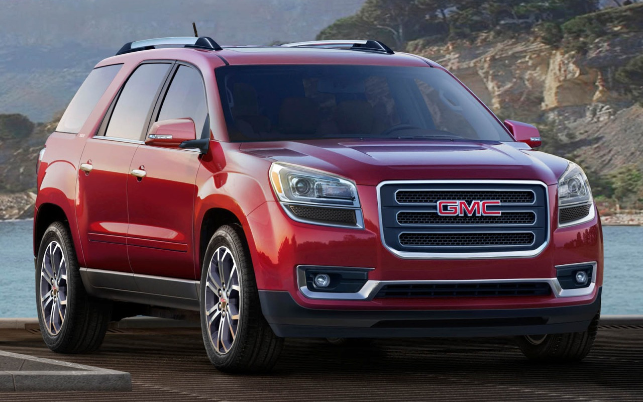 Comparison Gmc Acadia Limited 2017 Vs Subaru Ascent Premium 2018