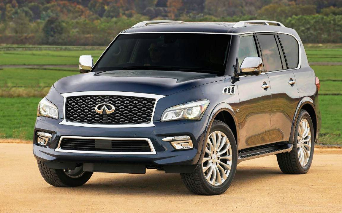 comparison infiniti qx80 limited 2017 vs land rover range rover velar se 2018 suv drive. Black Bedroom Furniture Sets. Home Design Ideas