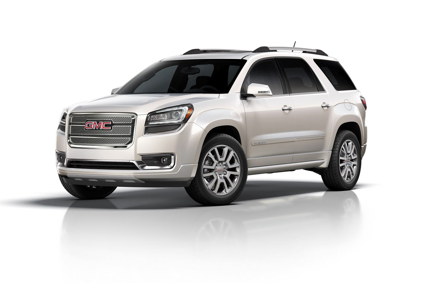 comparison gmc acadia denali 2016 vs chevrolet. Black Bedroom Furniture Sets. Home Design Ideas