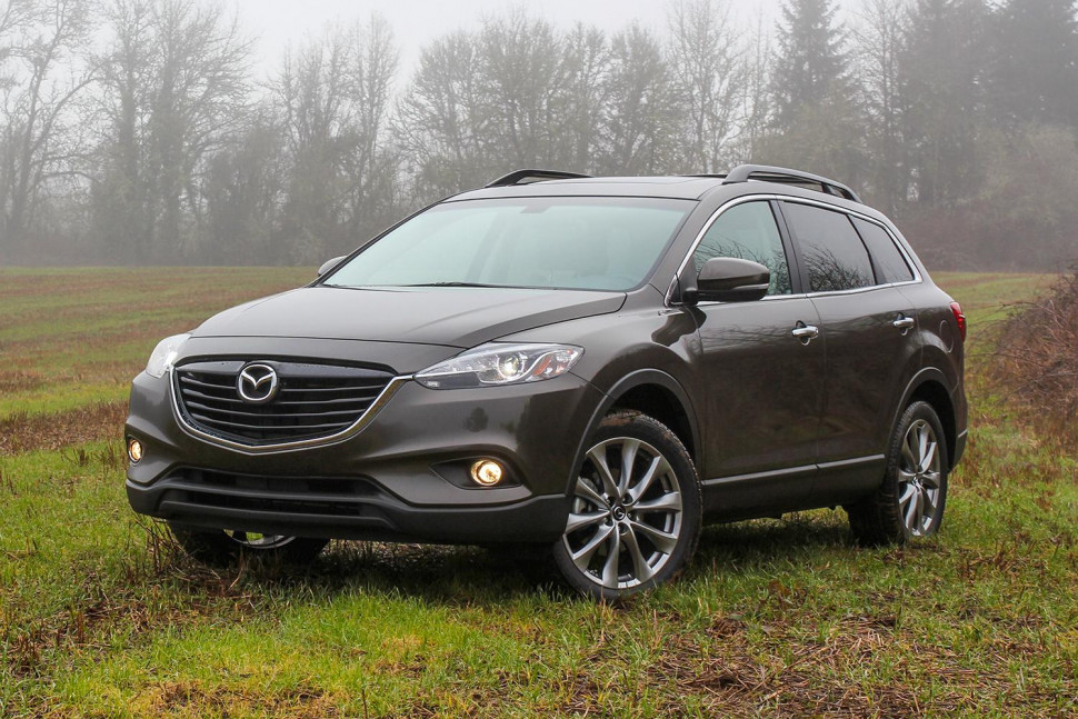 mazda cx 9 grand touring 2015 suv drive. Black Bedroom Furniture Sets. Home Design Ideas