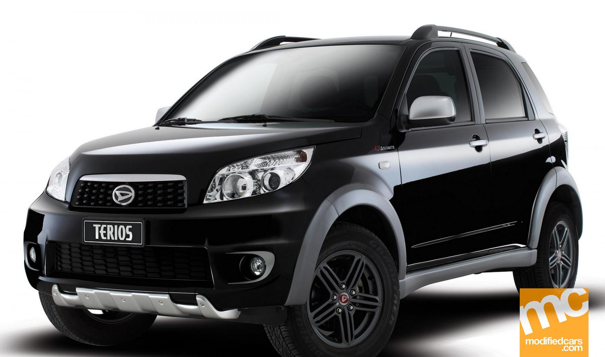 Comparison - Daihatsu Terios 7 seater 2015 - vs - Jeep