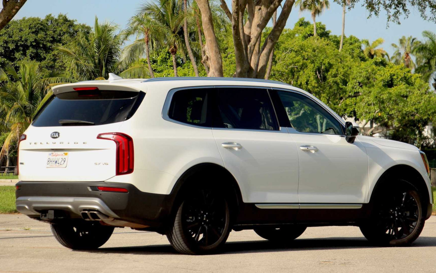 Comparison Kia Telluride Sx 2020 Vs Ford Explorer