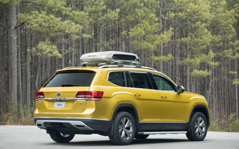 Volkswagen Atlas R-line 2018 | SUV Drive