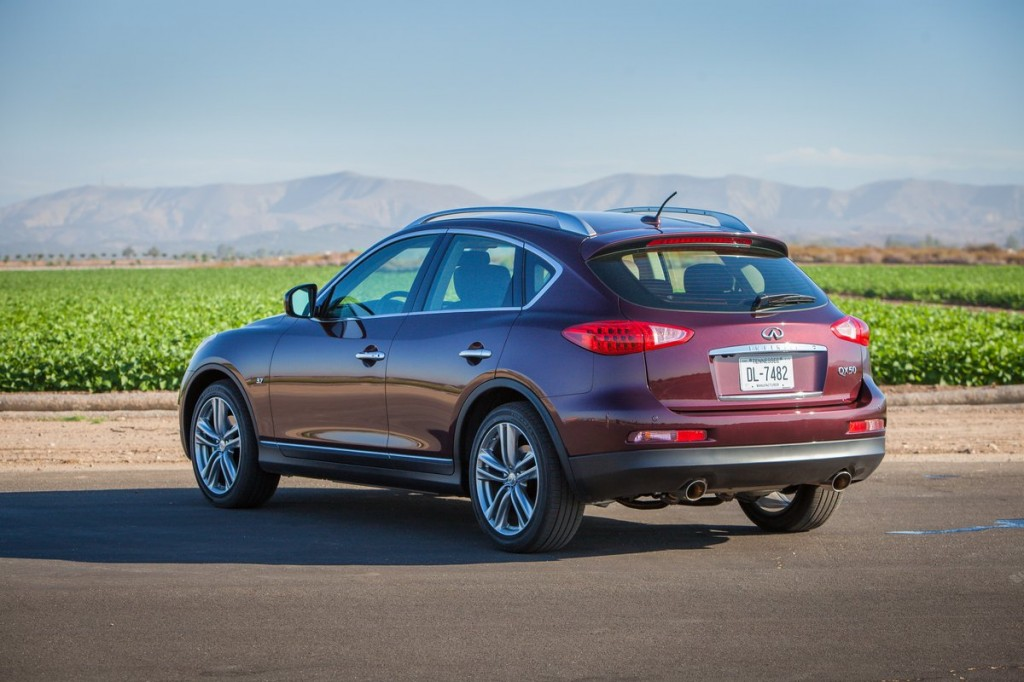 Comparison - Infiniti QX50 Journey2015 - vs - Dodge ...