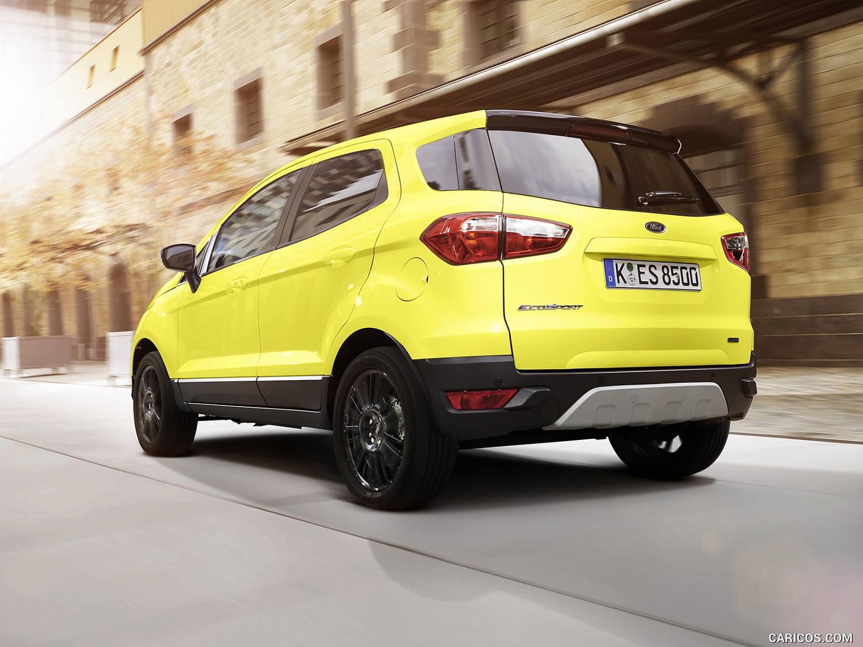 Crossover Vs Suv >> Comparison - Ford Ecosport Titanium 2016 - vs - Kia Sportage SX 2017 | SUV Drive
