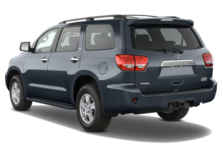 2017 Subaru Forester Limited Price >> Comparison - Toyota Sequoia Limited 2015 - vs - Subaru Forester Limited 2016 | SUV Drive