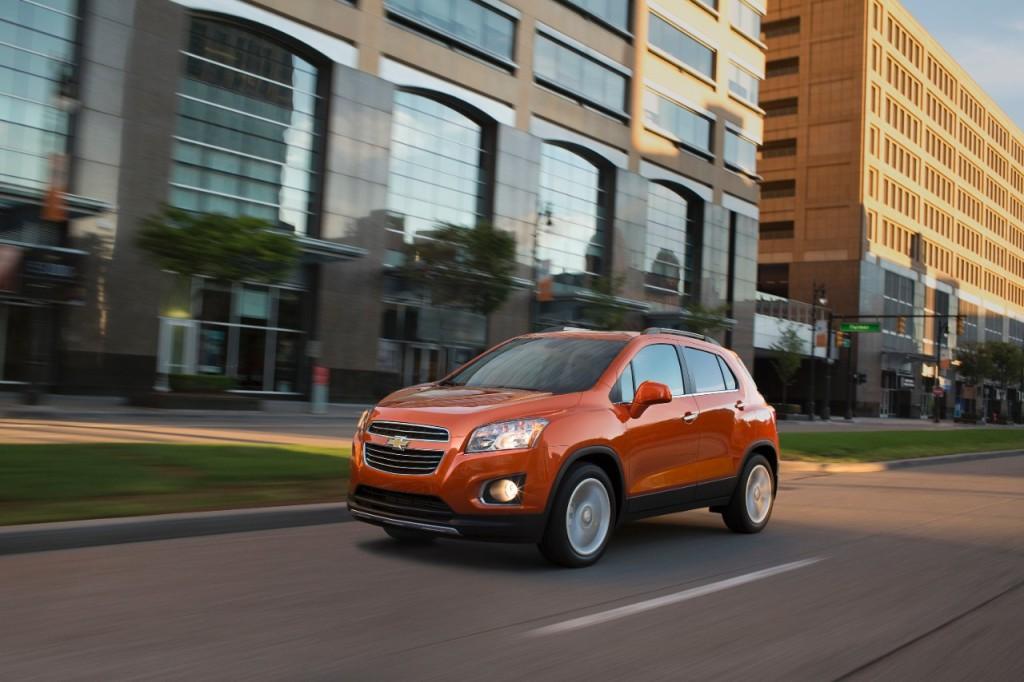 Comparison Chevrolet Trax Suv 2015 Vs Chevrolet Captiva 2015