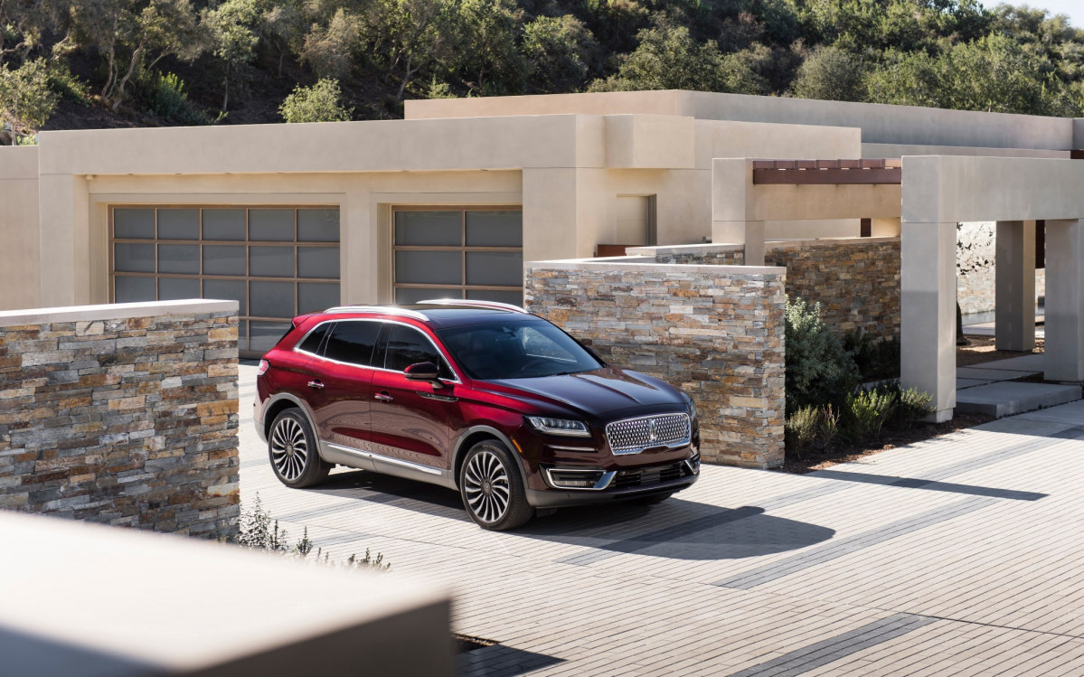 Lincoln Nautilus Black Label 2019 Suv Drive