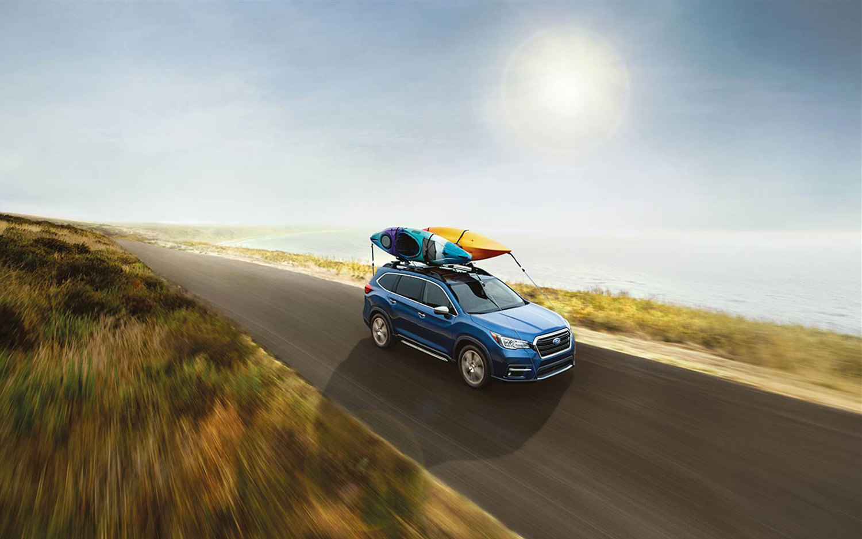 Comparison Subaru Ascent Premium 2018 Vs Ford