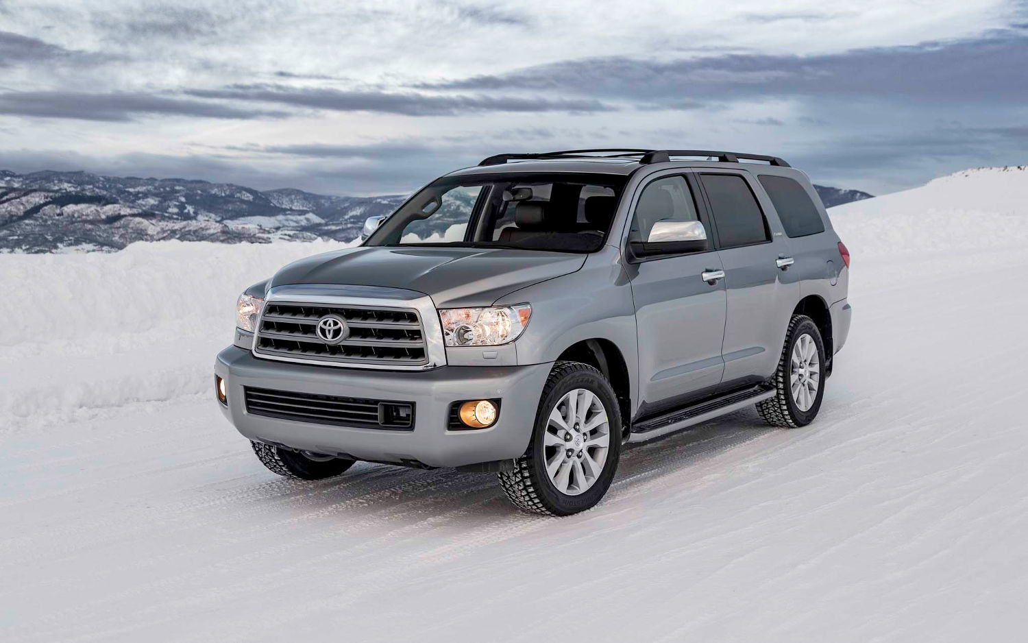 toyota sequoia limited 2018 suv drive. Black Bedroom Furniture Sets. Home Design Ideas
