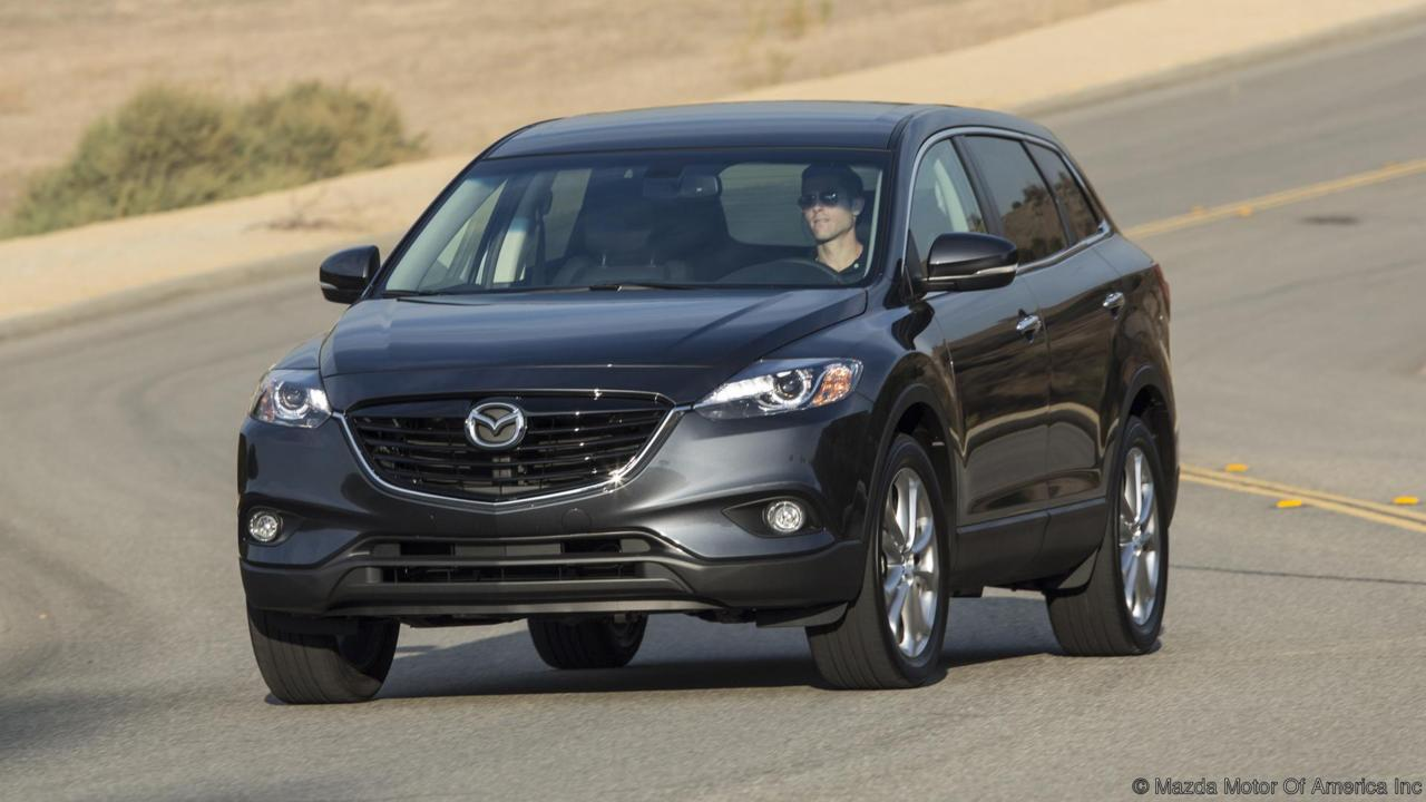 Mazda Cx 9 Commercial >> Comparison - Audi Q5 SUV 2015 - vs - Mazda CX-9 Grand Touring 2015 | SUV Drive