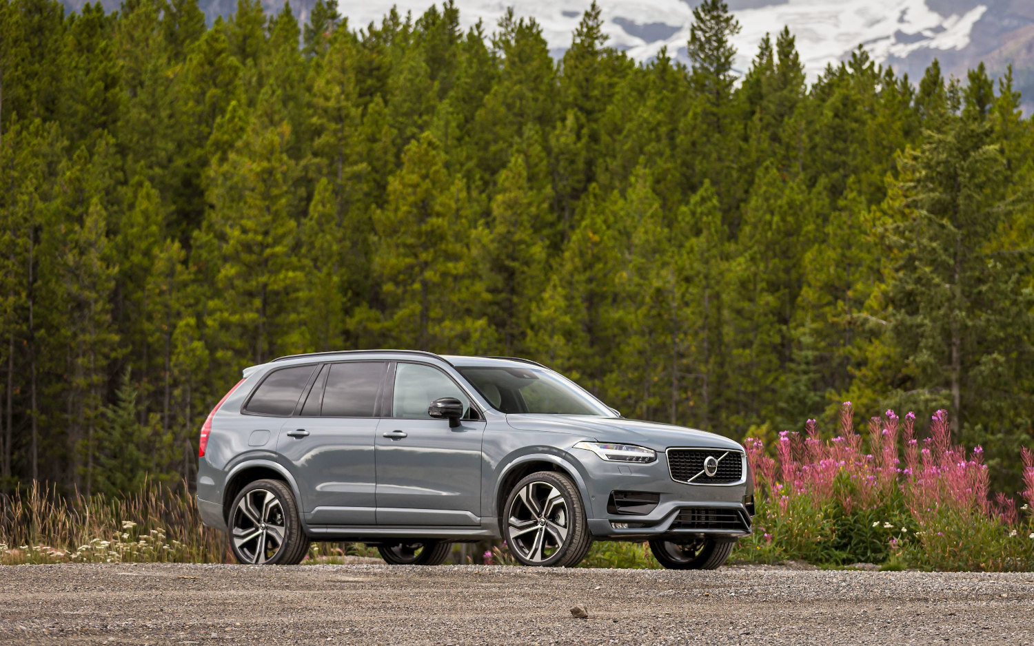 comparison - volvo xc90 t6 r-design 2020 - vs