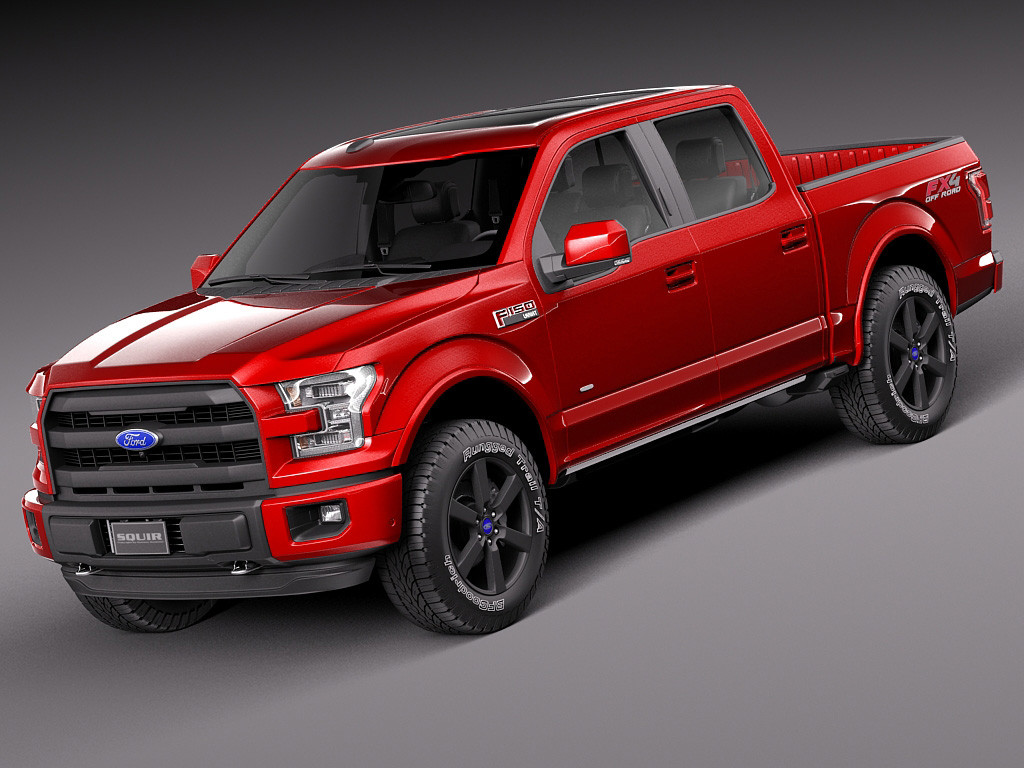 Comparison - Ford F-150 Supercrew Lariat 2015 - Vs