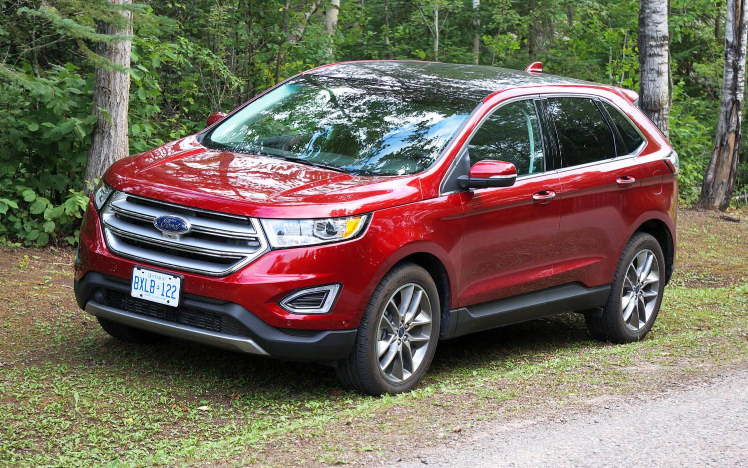 Comparison Ford Edge Sport 2015 Vs Suzuki Grand