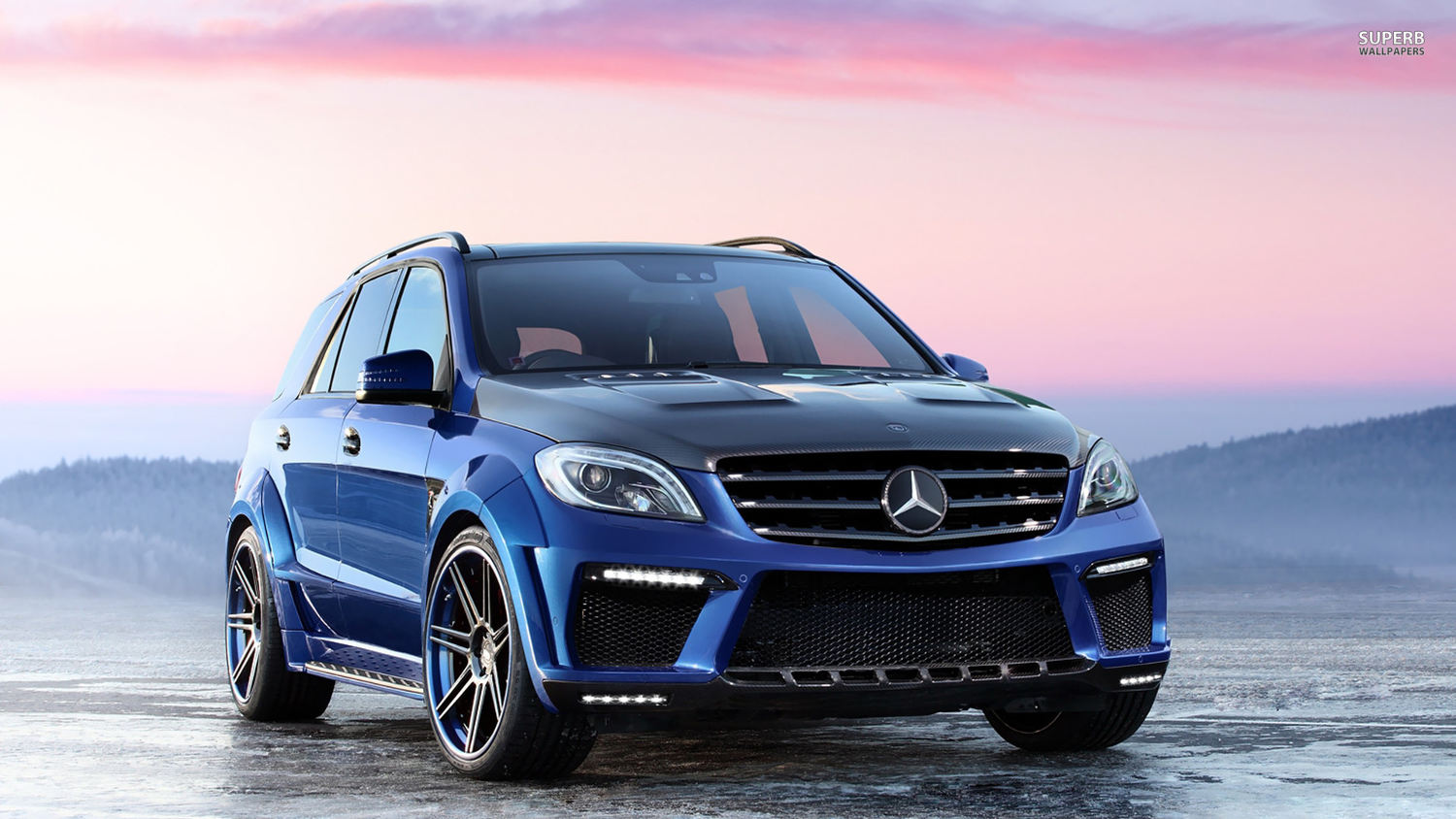 Comparison mercedes benz m class ml63 amg 2015 vs for Mercedes benz mclass
