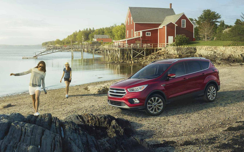 Ford Kuga St Line 2018 Suv Drive