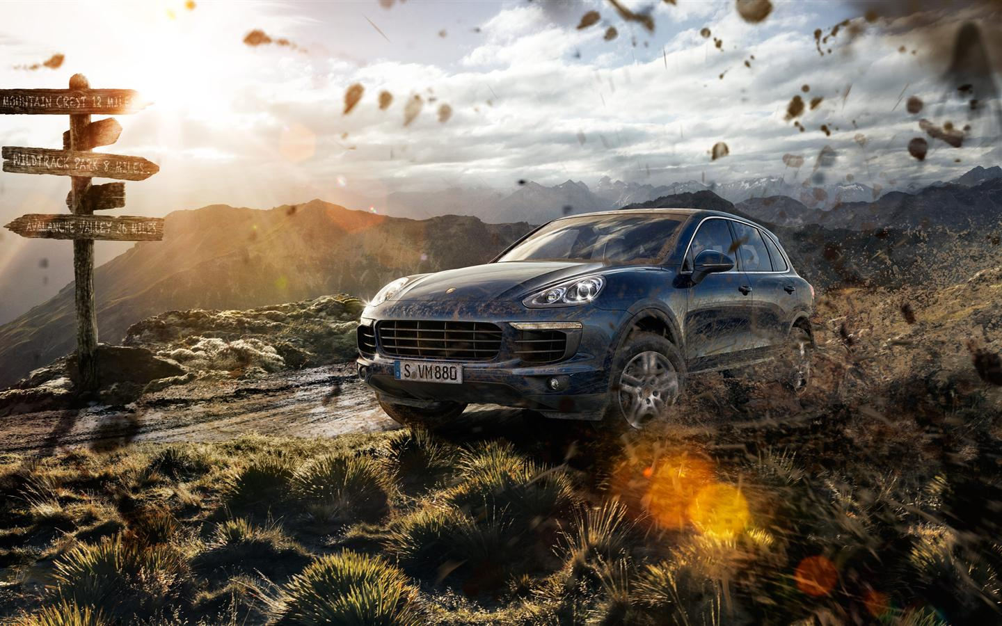 Image Result For Porsche Cayenne Model First Drive