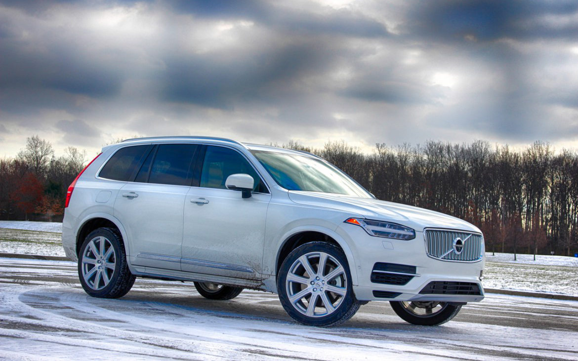 Comparison - Volvo XC90 Hybrid T8 R-Design 2017 - vs - BMW ...
