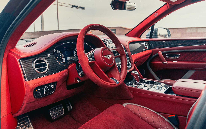Bentley Bentayga Speed 2020 Suv Drive
