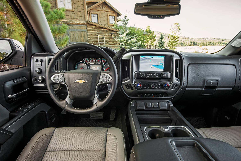 Comparison - Chevrolet Silverado 1500 Crew Cab LTZ 2015 ...