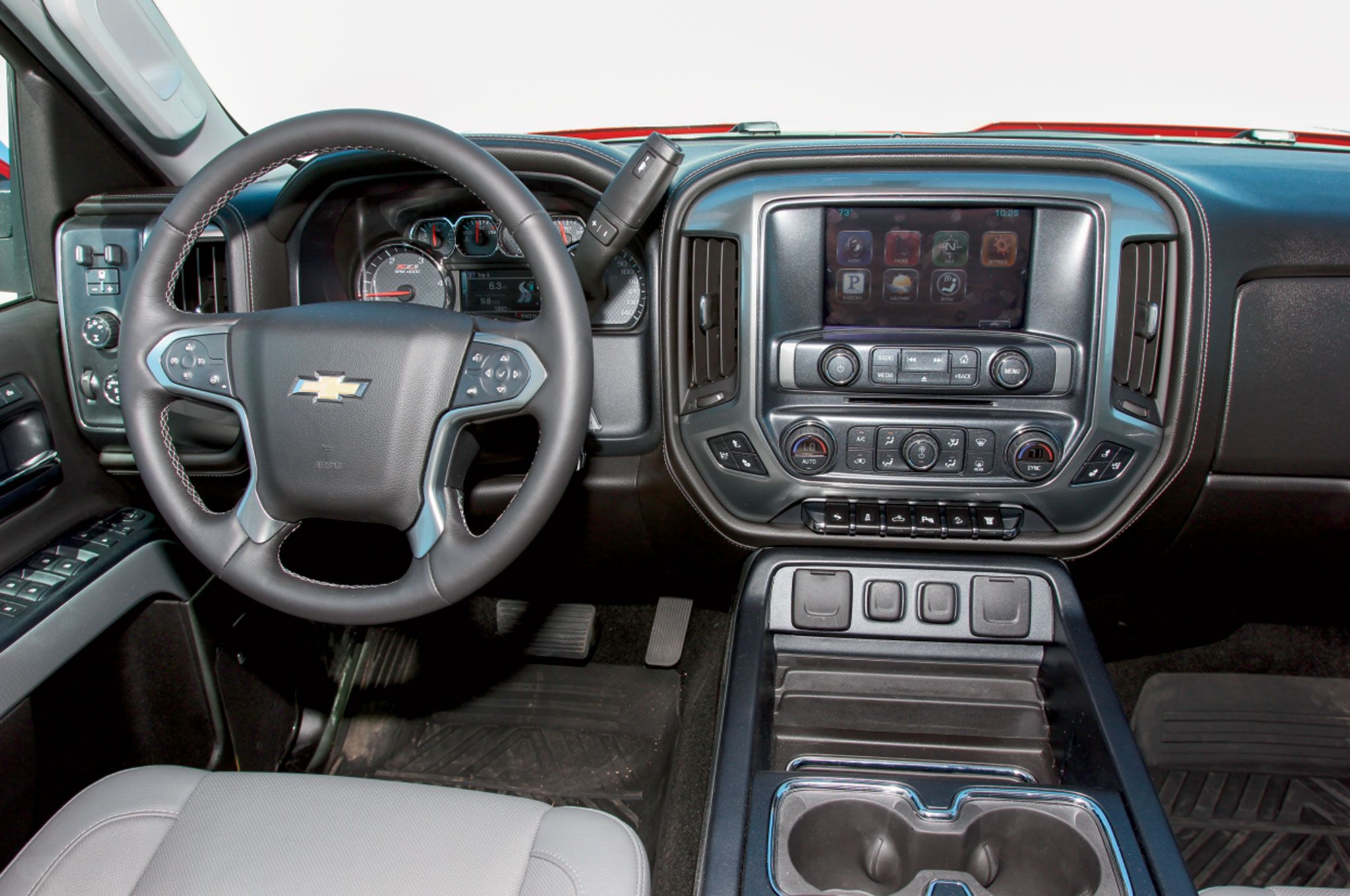 Comparison - Chevrolet Silverado 2500HD Crew Cab High ...