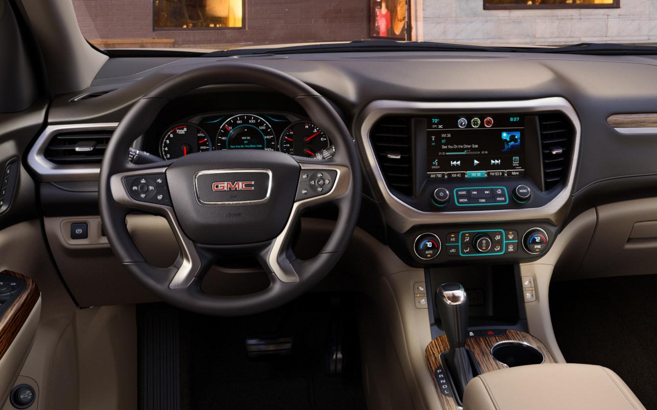 Comparison - Chevrolet Traverse High Country 2018 - vs - GMC Acadia Denali 2017 | SUV Drive