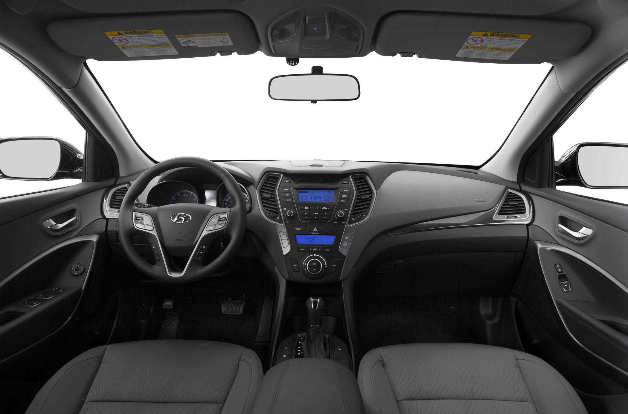 Comparison hyundai santa fe sport 2015 vs toyota - Hyundai santa fe sport interior photos ...