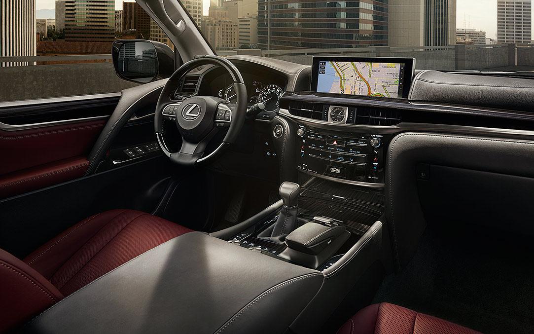 Comparison Lexus Lx 570 2018 Vs Ford Edge Titanium