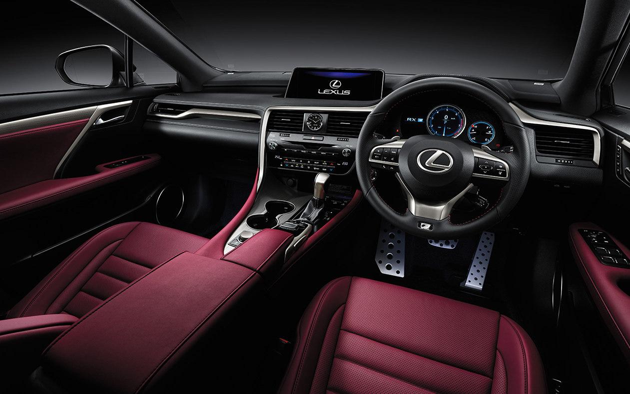 Comparison Lexus RX 450h F SPORT 2018 Vs Mercedes