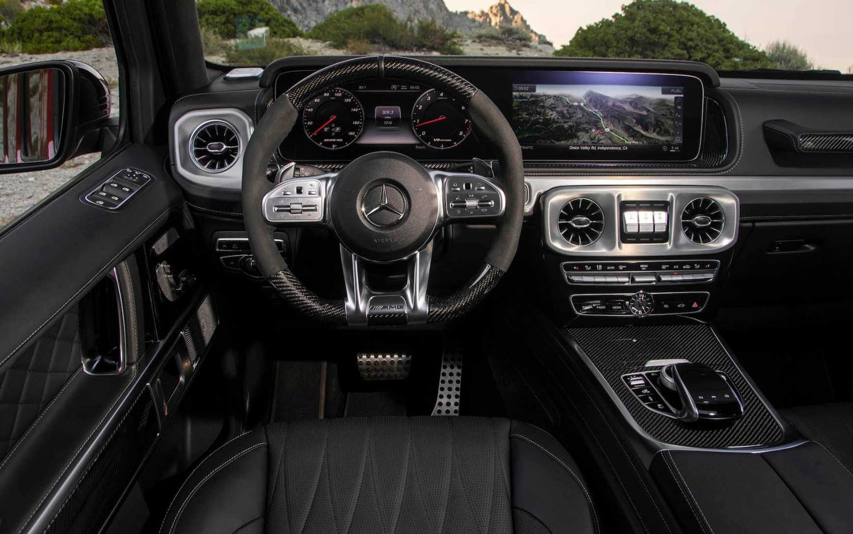 Mercedes Benz G Class G63 Amg 2019 Suv Drive