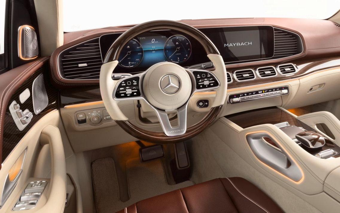 Mercedes Maybach Gls 600 4matic 2020 Suv Drive