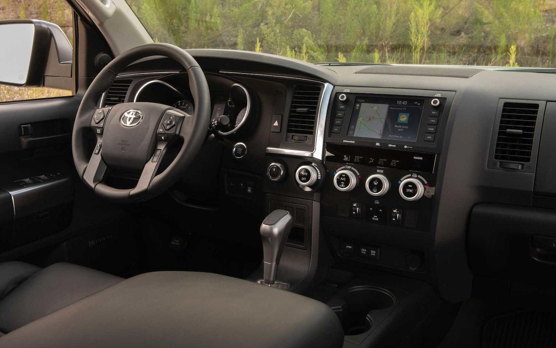 Toyota Sequoia Trd Pro 2020 Suv Drive