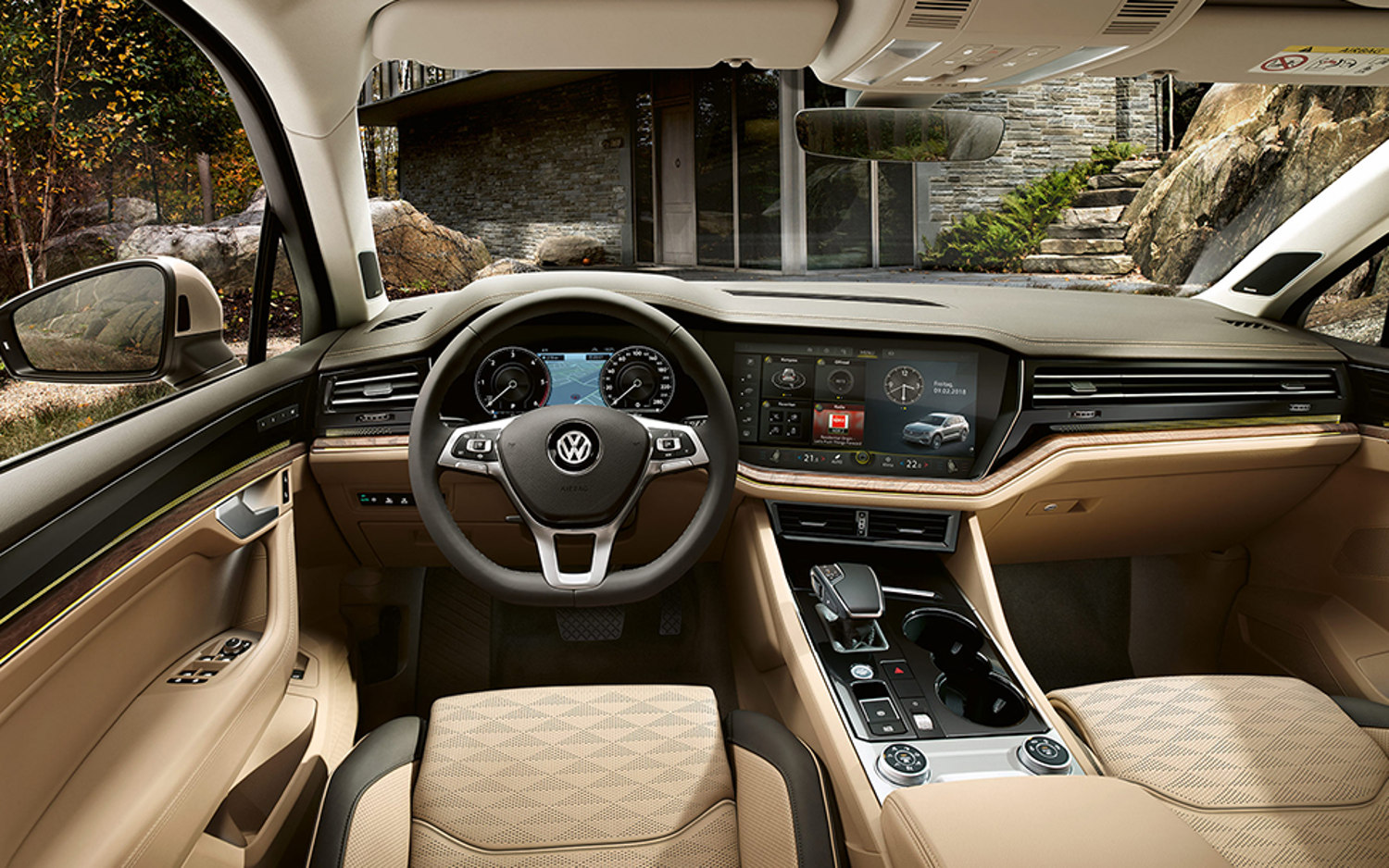Image Result For Vw Touareg Interior Exterior And Review