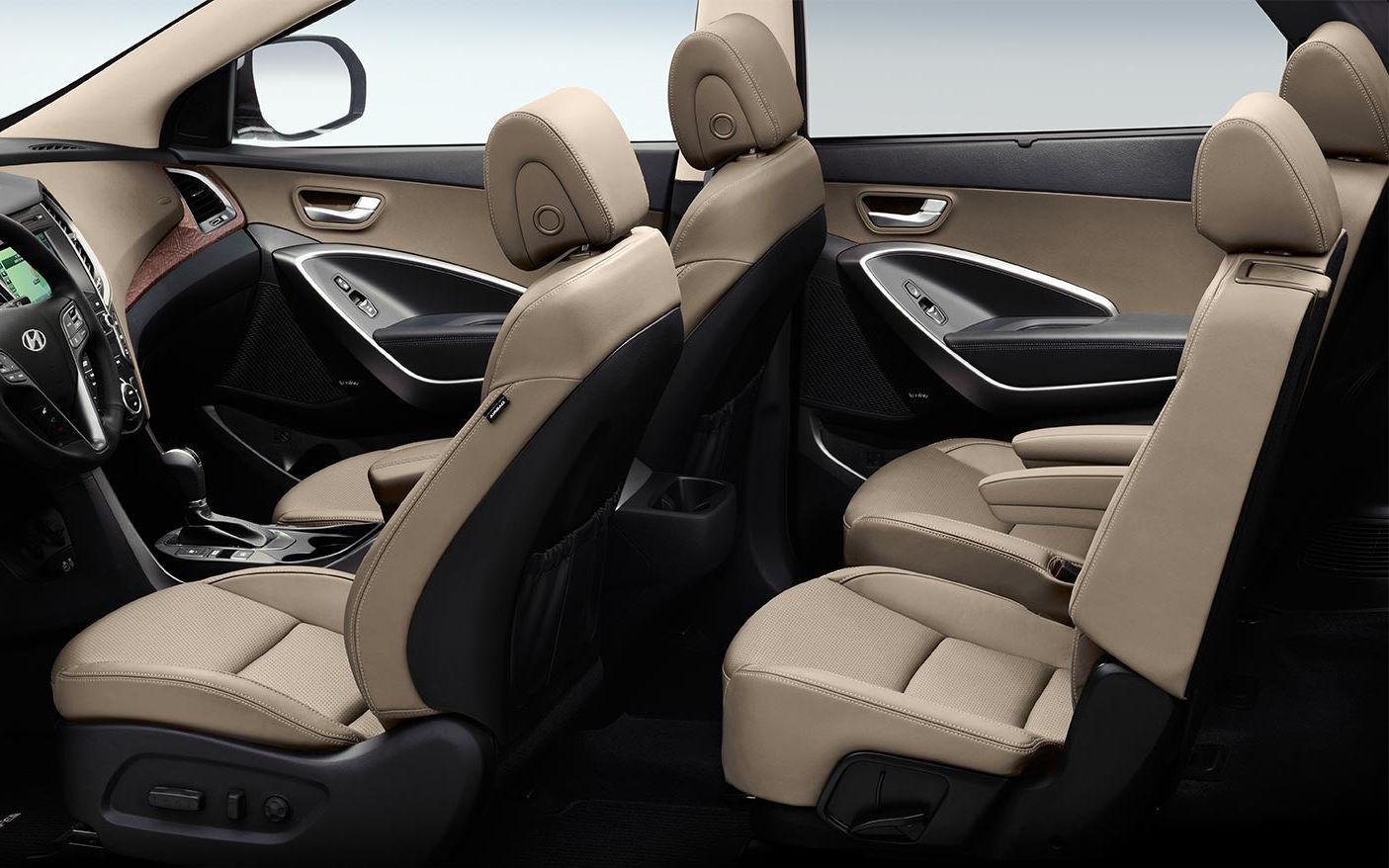 2017 Hyundai Santa Fe Limited Interior | www.indiepedia.org