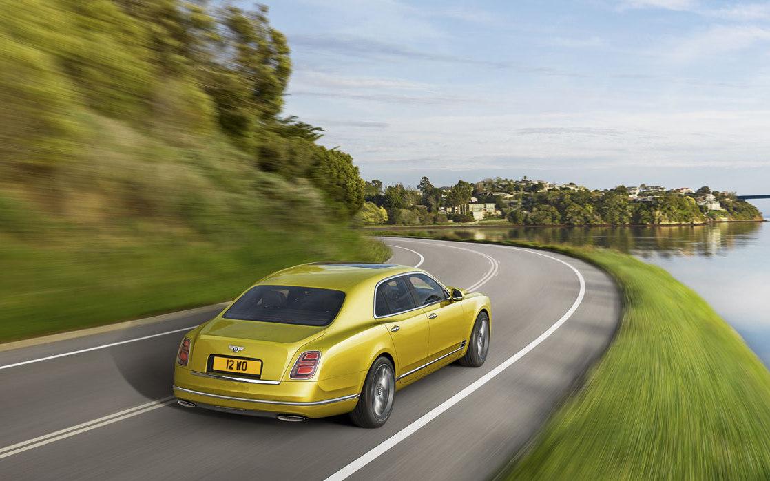 Bentley Mulsanne Speed 2018