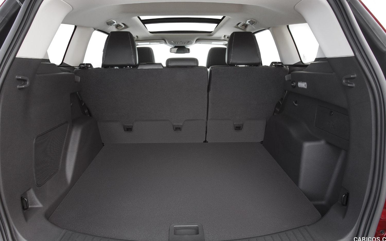 2017 Ford Escape Interior Cargo Dimensions