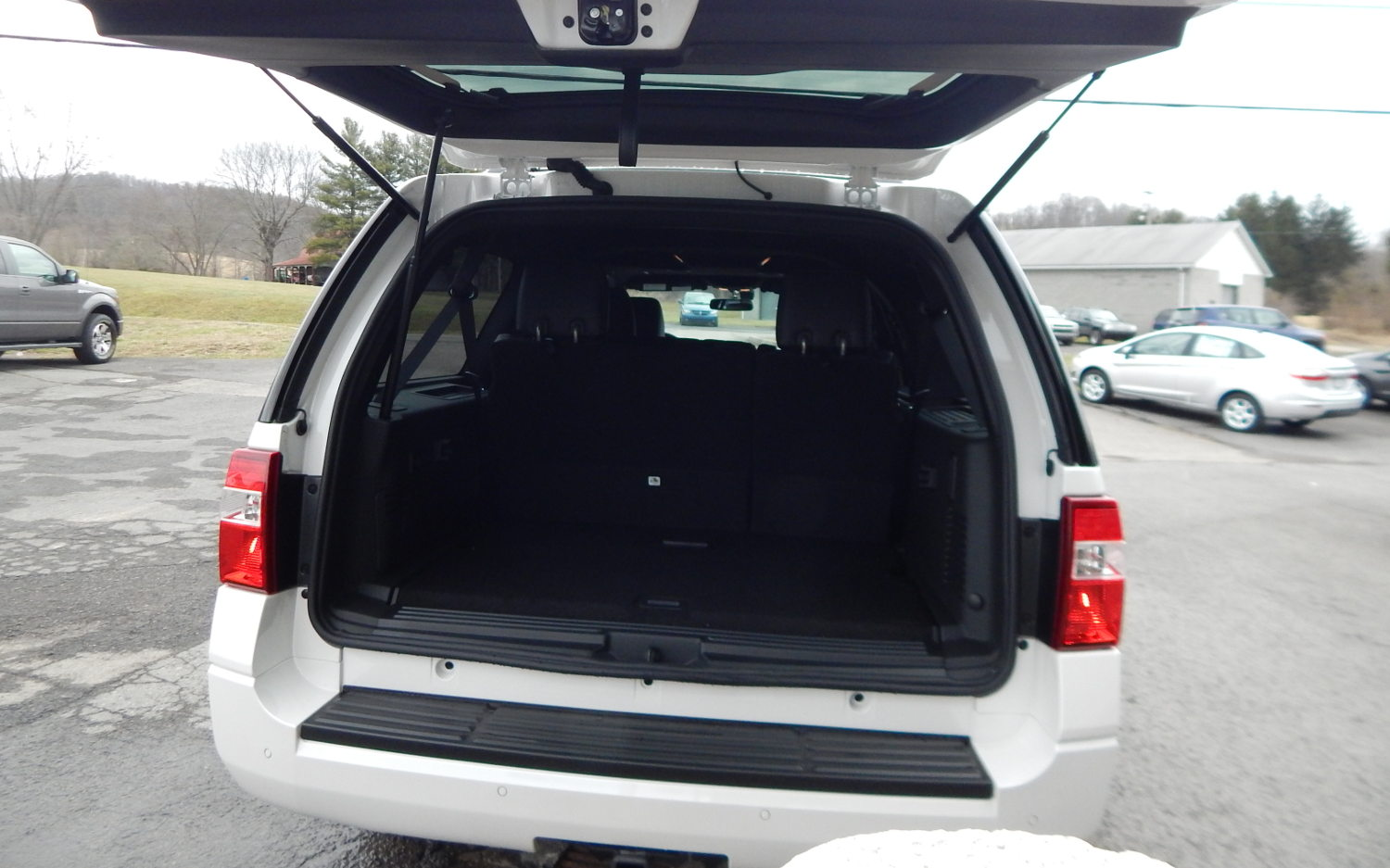 Trunk Ford Expedition El Platinum