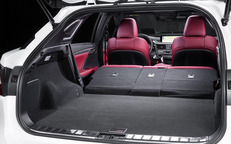 Lexus 450h Interior Dimensions