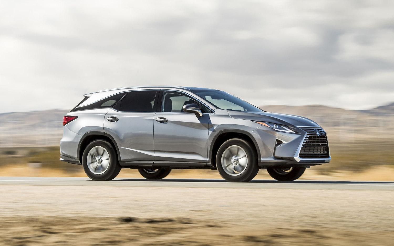 Comparison - Lexus RX 350L Luxury 2018 - vs - Toyota