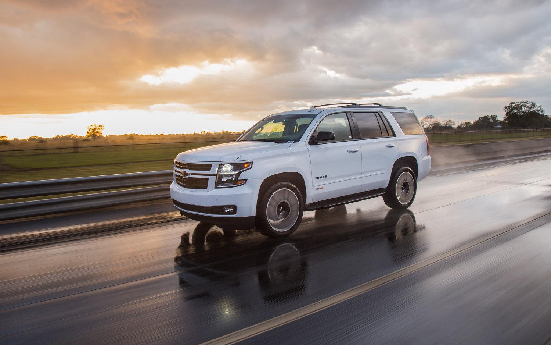Comparison - Chevrolet Tahoe Premier 2018 - vs - Land ...