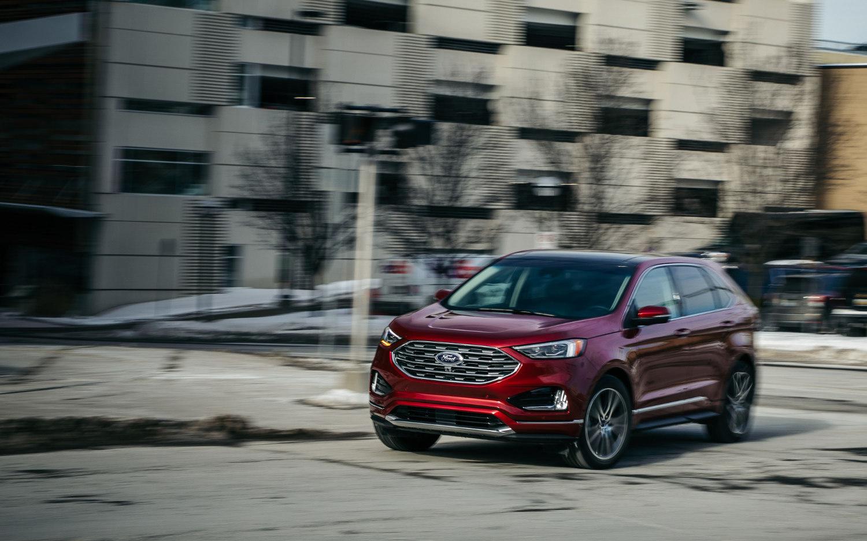 Comparison Ford Edge Titanium 2019 Vs Honda Passport Elite